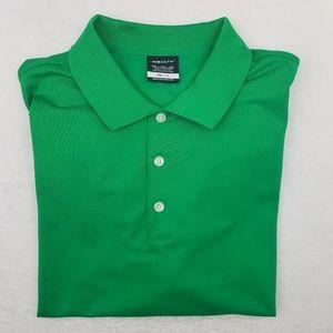 Nike Golf Green Polo Shirt 2XL Polyester
